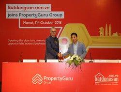 Batdongsan.com.vn gia nhập tập đoàn công nghệ BĐS lớn nhất châu Á Property Guru