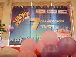 Tưng bừng tổ chức kỷ niệm 7 năm sinh nhật Đại Việt Group