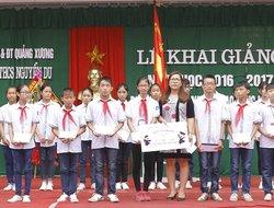 Đại Việt Group mang sách đến trẻ em Thanh Hóa: Tặng tủ sách – Nuôi tâm hồn