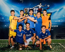 Giải bóng đá ĐVG Lần 1: Đam mê dẫn lối người Đại Việt ôm trọn Cúp vàng mùa giải 2018