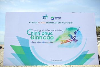 Dai Viet Group's 10th anniversary – Teambuilding event