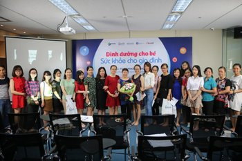 """Child nutrition and family health"" – A talkshow delivered by Dr. Pham Thuy Hoa"